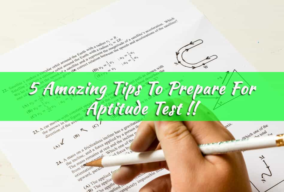 How to prepare for Aptitude tests