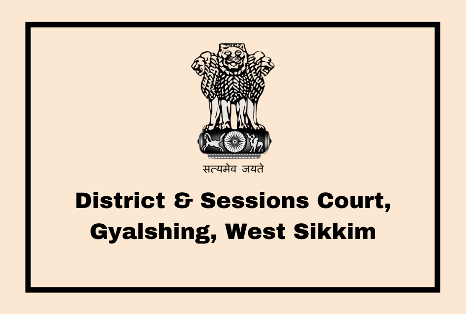 District & Sessions Court, Gyalshing, West Sikkim